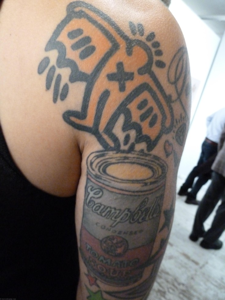 Tattoo-of-the-Day-Haring-Warhol