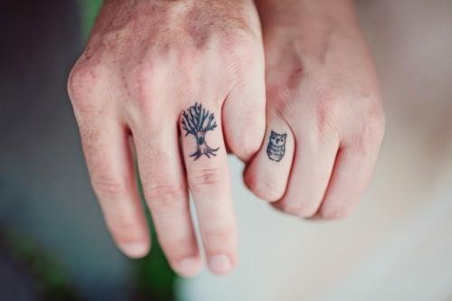 Tatuagens Pequenas Para Casal Arvore