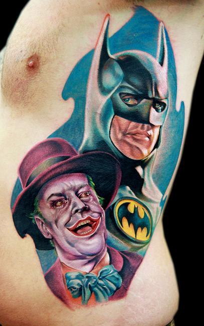batman joker sm