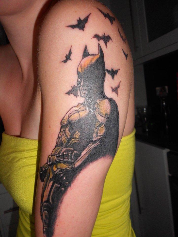 Batman-Tattoos