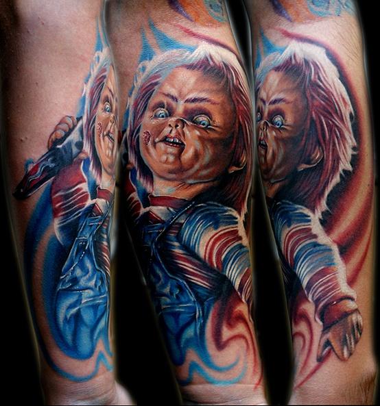 Chucky-Tattoo