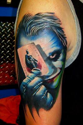 joker tattoo 1