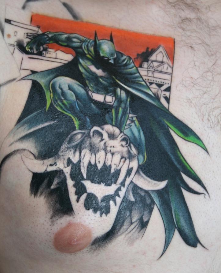 Protegendo-Gotham-City-Tatuagens-do-Batman27