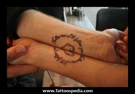 Romantic Matching Tattoos 1