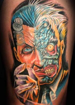 two-face-worst-batman-tattoos