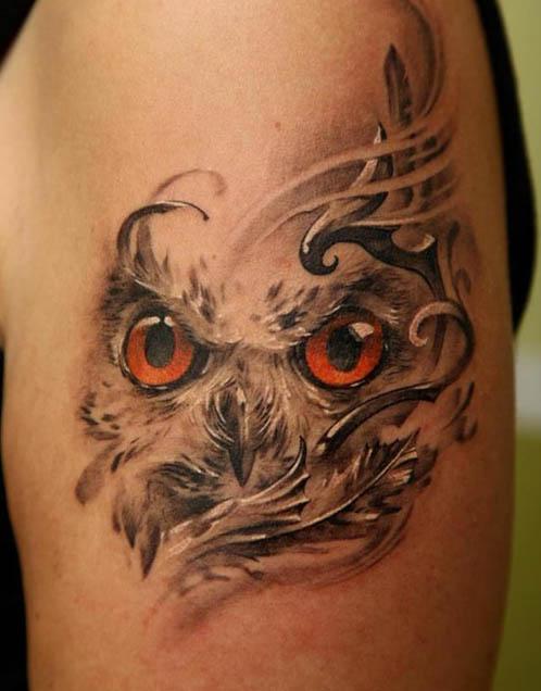 flying-owl-tattoo-design