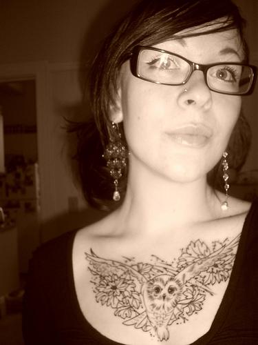 owl-tattoo-chest-piece