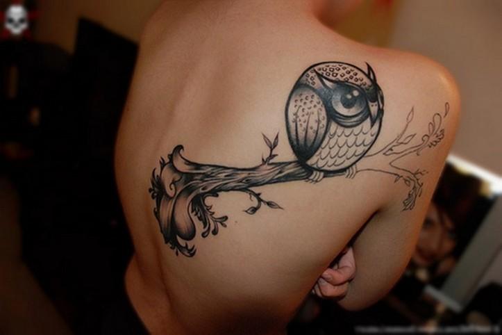 Owl Tattoos Designs