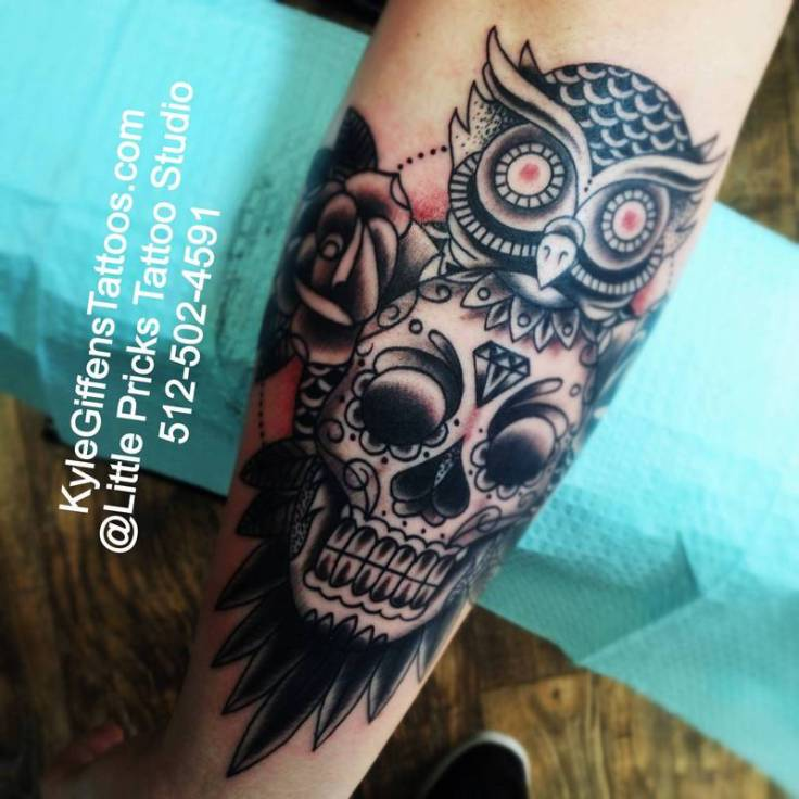 sugar-skull-owl-tattoo1