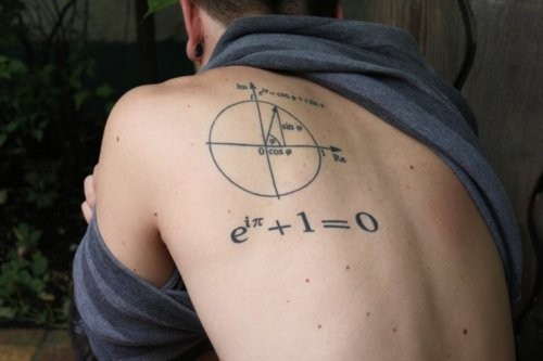 math geek tattoo
