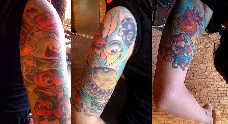super-mario-tattoo