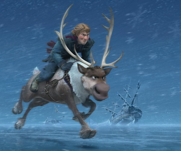 """FROZEN"" (Top to Bottom) KRISTOFF and SVEN ©2013 Disney. All Rights Reserved."