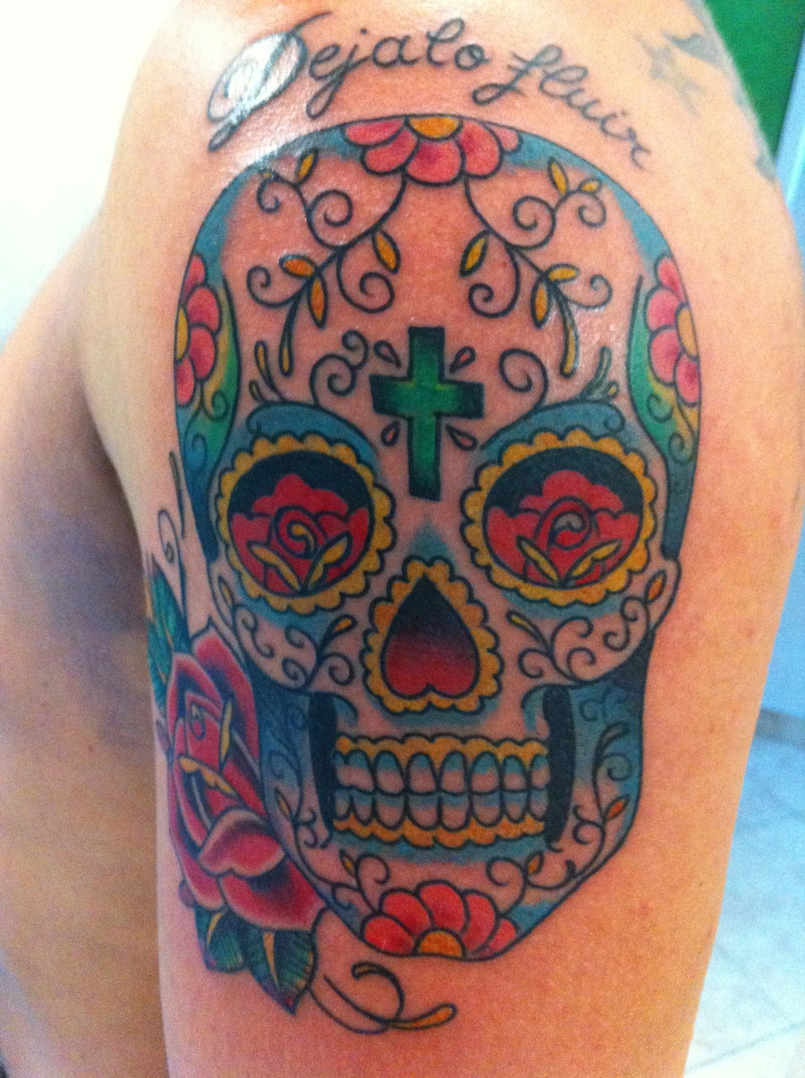 Tattoofriday 55 Tatuagens De Caveiras Mexicanas Pausa