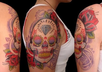 mexican-sugar-skull-tattoos