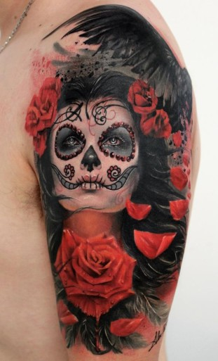 sugar-skull-face-paint