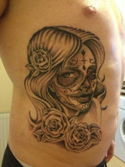 sugar-skull-tattoo-by-nexivwho