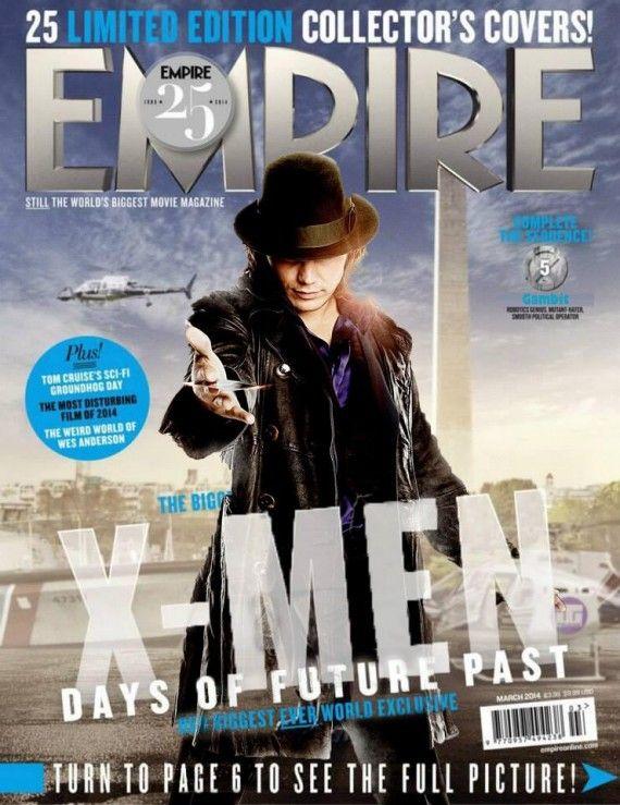 Está ansioso pelo novo X-Men? O diretor Bryan Singer já ... X Men Days Of Future Past Empire Covers