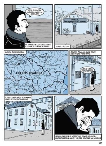 pagina-da-historia-em-quadrinhos-gabo---memorias-de-uma-vida-magica-sobre-o-escritor-gabriel-garcia-marquez-1397775546895_363x500
