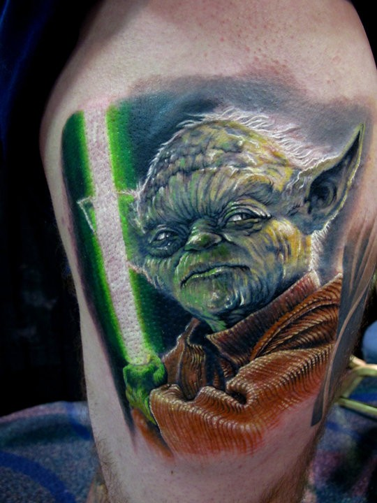 Stefano-Alcantara-Star-Wars-Yoda-Tattoo