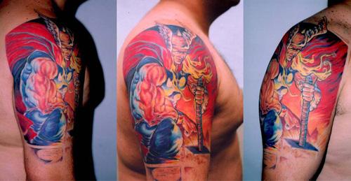 Thor-tatuagem
