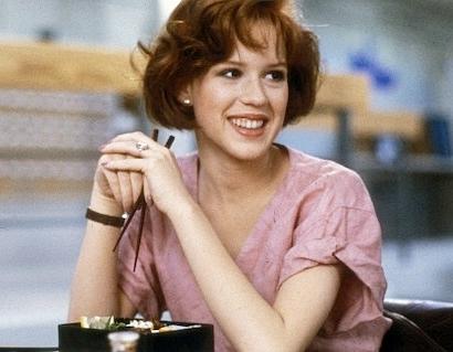 Molly Ringwald in The Breakfast Club, 1985.