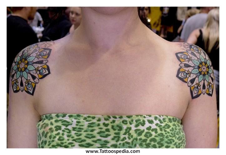 Lotus Flower Mandala Tattoos 6