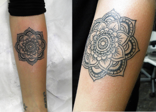 Tatuagem Indiana Na Batata Da Perna Mmod