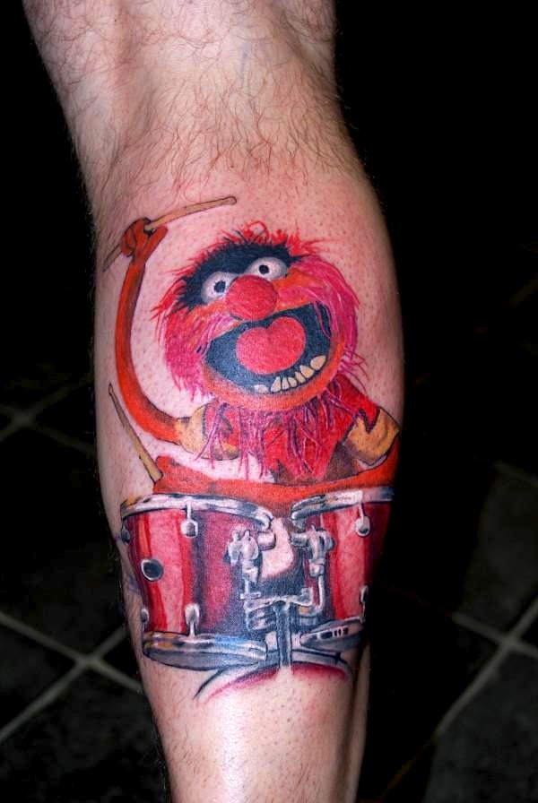 tattoofriday 35 tatuagens dos muppets. Black Bedroom Furniture Sets. Home Design Ideas