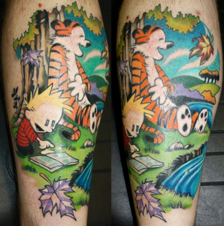 calvin_and_hobbes_tattoo_by_brentsmith_aloadofbs-d4itfra