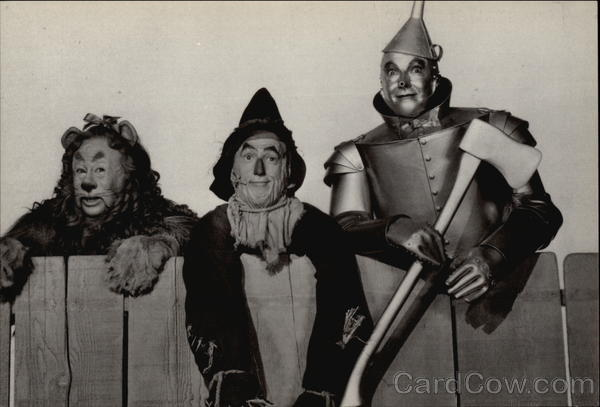 The Wizard of Oz - Lion, Scarecrow  Tin Man