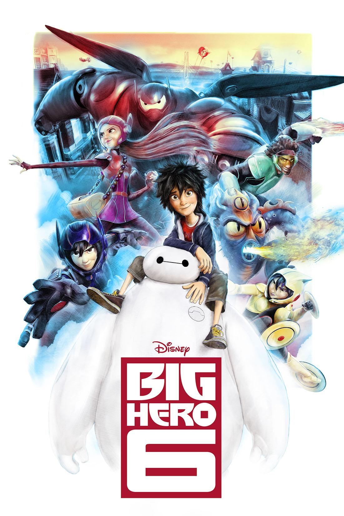 Poster - Operação Big Hero - Divulgação