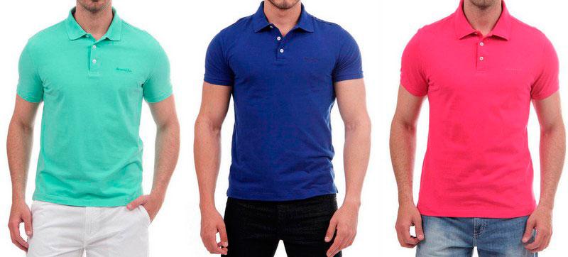 02e14d6a5 Tendência na moda masculina 2015  camisa Polo volta renovada – Pausa ...