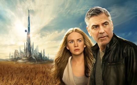 Britt-Robertson-George-Clooney-Tomorrowland-Movie