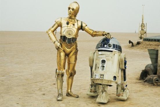 R2D2 e C3PO