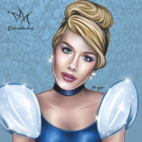 Fiorela Mattheis como Cinderela