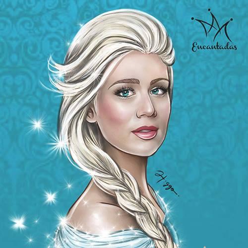 Mariana Ximenes como Elsa