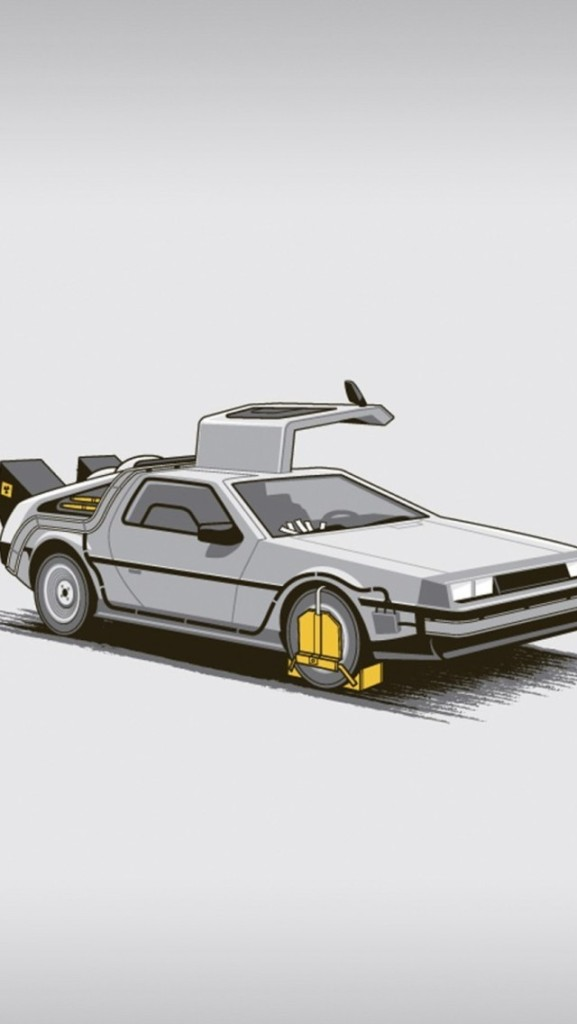 Back to the Future Wallpaper by TelephoneWallpaper.com