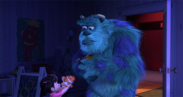 09-boo-gives-sulley-jessie-doll-from-toy-story-2-and-nemo