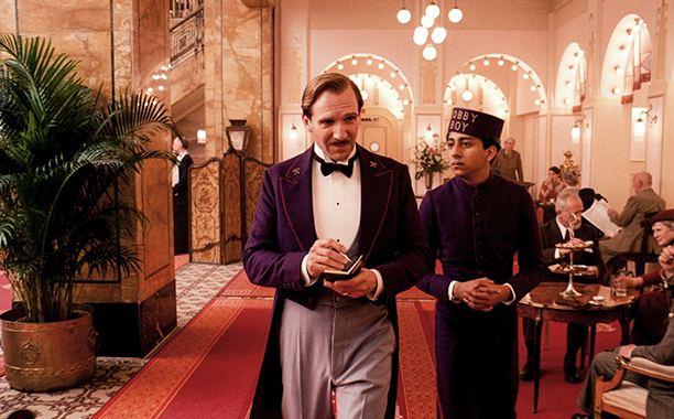 The Grand Budapest Hotel (2014)Ralph Fiennes (L) and Tony Revolori