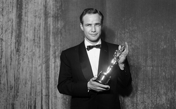 Best Actor Winner With His Oscar
