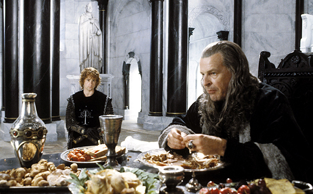 THE LORD OF THE RINGS: THE RETURN OF THE KING, Billy Boyd, John Noble, 2003, (c) New Line/courtesy E