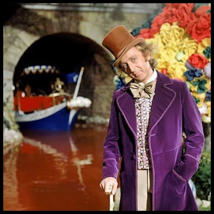 A Fantástica Fábrica de Chocolate 1971 Charlie and the Chocolate Factory Willy Wonka