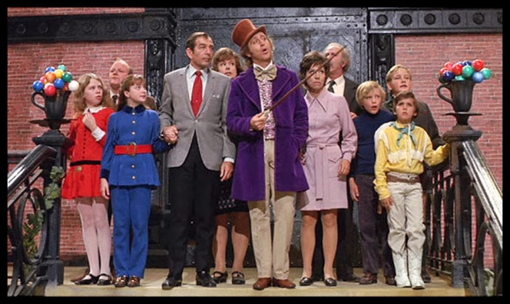 A Fantástica Fábrica de Chocolate 1971 willy wonka Charlie and the Chocolate Factory 4