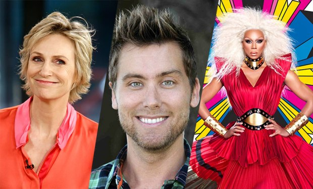 jane-lynch-lance-bass-rupaul