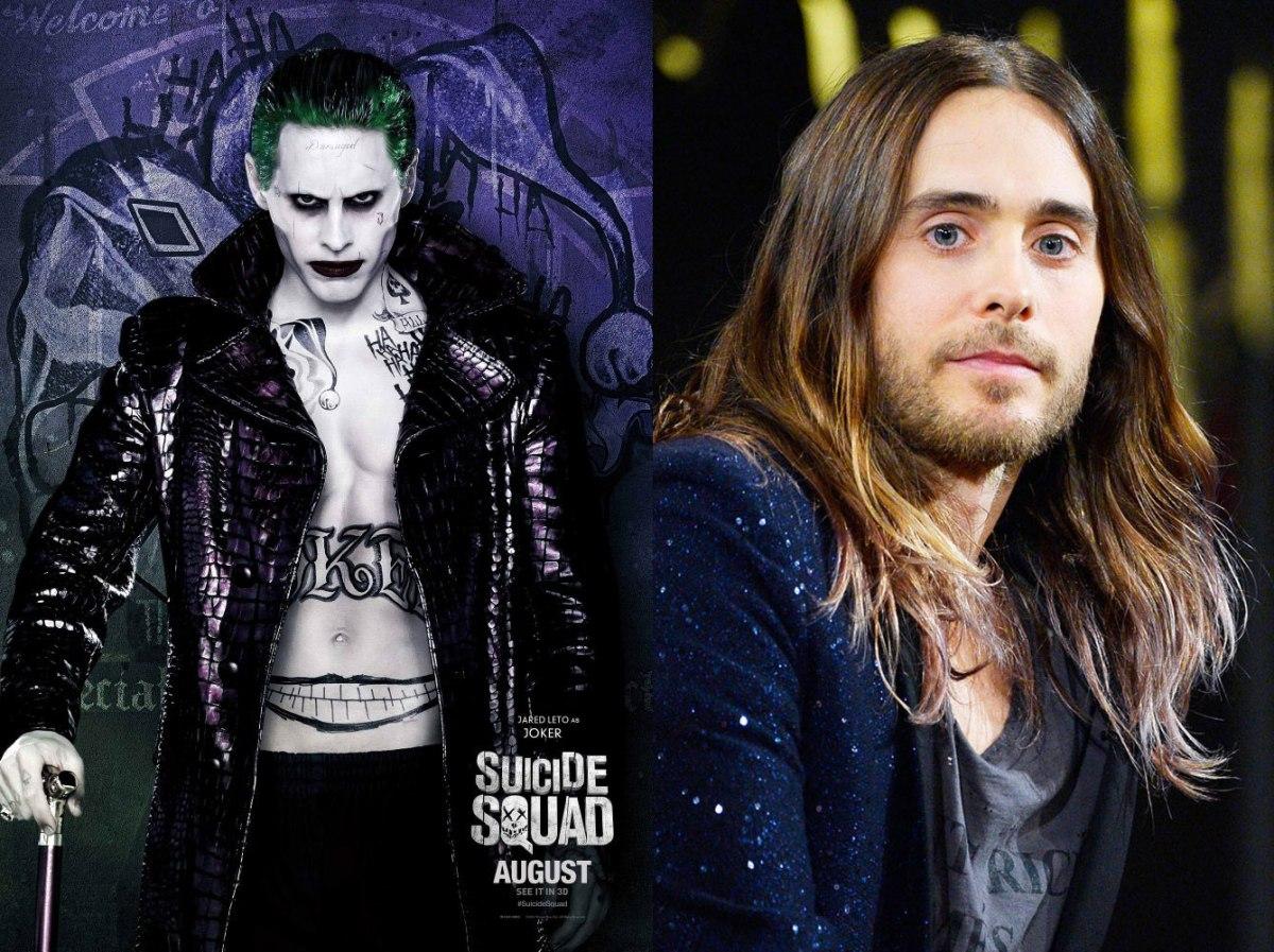 d10aedc53 Veja como são os atores de  Esquadrão Suicida  sem a maquiagem dos  personagens – Pausa Dramática Cultura Pop