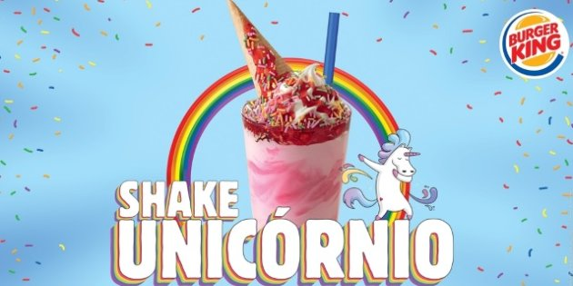 shake unicornio burger king