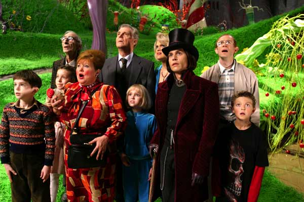 WILLY WONKA TIM BURTON